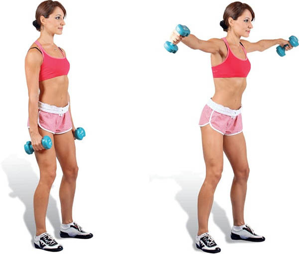 Mahi standing dumbbell for girls