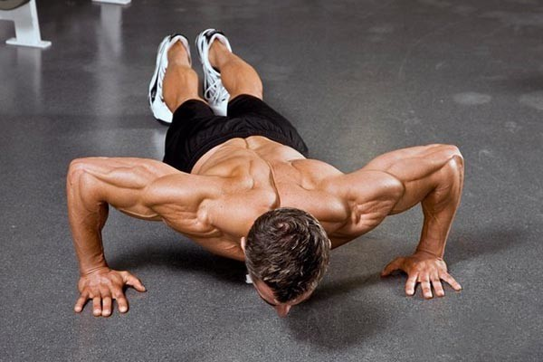 push-up triceps push-ups
