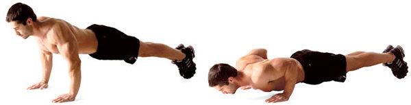 Close-grip push-ups