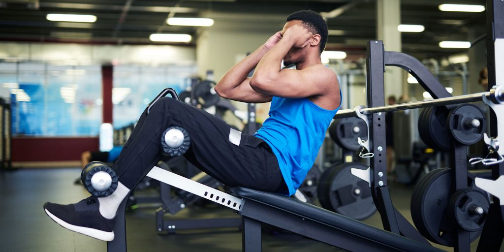 features of decline bench sit-ups