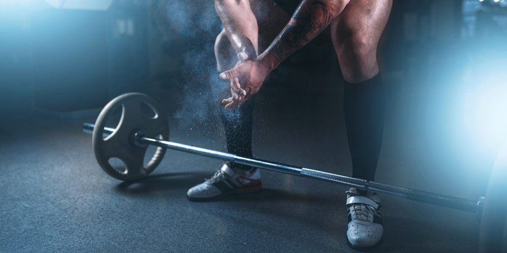 crossfit barbell ab rollout