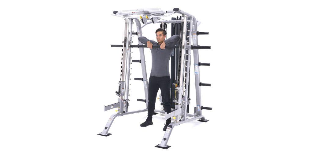 upright row smith machine